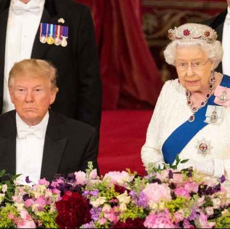 President Donald Trump Listens As Queen Elizabeth Ii Makes News Photo 1147874497 1559652204