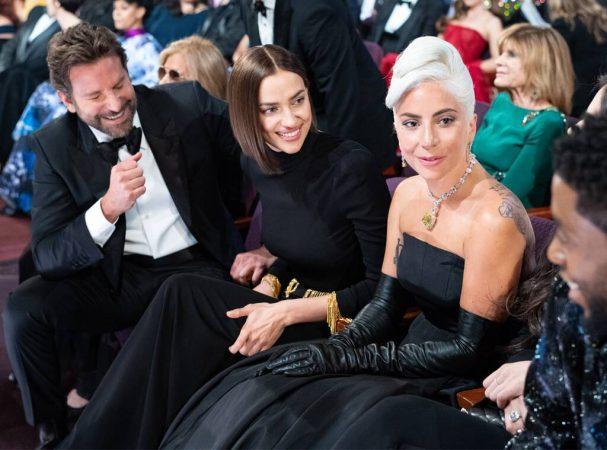 Rs 1024x759 190224205132 1024.bradley Cooper Irina Shayk Lady Gaga 2019 Oscar Academy Awards Candids.ct.022419