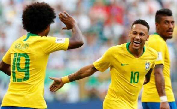 Willian And Neymar