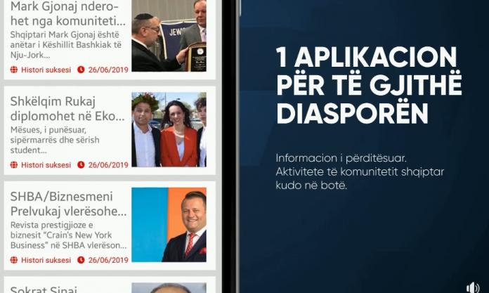 Aplikacioni Per Diasporen
