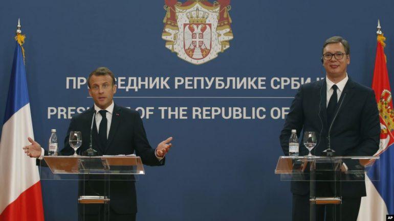 Macron Serbi