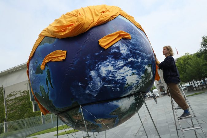 Planet Earth Trump Protest