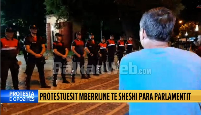 Protesta Para Parlamenti I