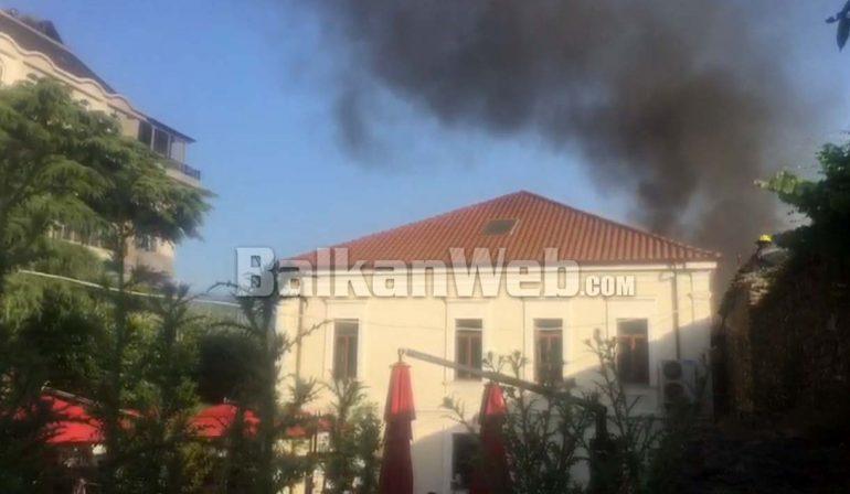 Zjarr Ne Elbasan