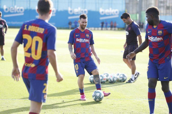 5. Barcelona Mund Te Qeshe, Mesi Kthehet Ne Fushe