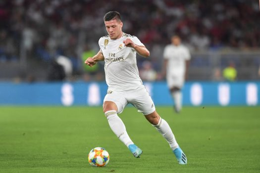 Inter Milan Eye Luka Jovic Loan Deal From Real Madrid
