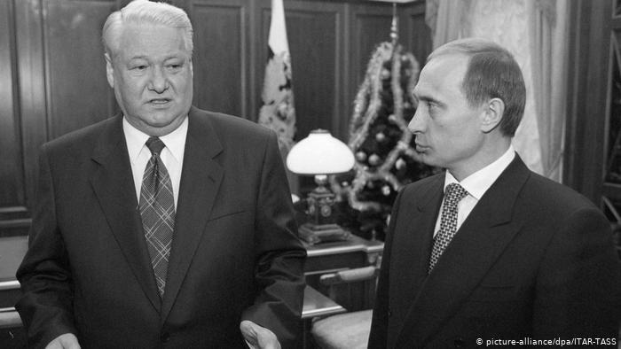 Putin Jelcin