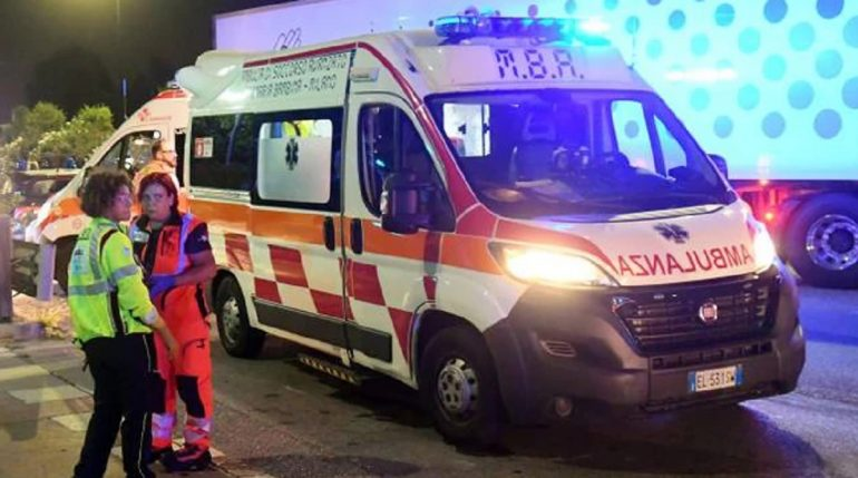 Itali Ambulanca Aksident