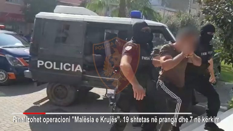 Keuje 19 Te Arrestuar