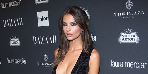 Model Emily Ratajkowski Attends Harpers Bazaar Celebrates News Photo 601725244 1549493291