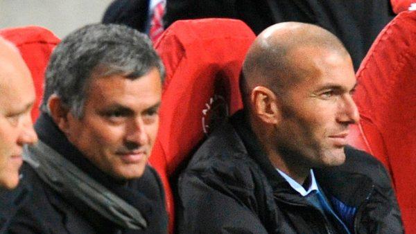 Skysports Jose Mourinho Zinedine Zidane 4412865
