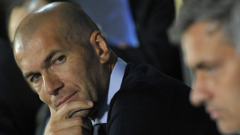 Zidane Mourinho
