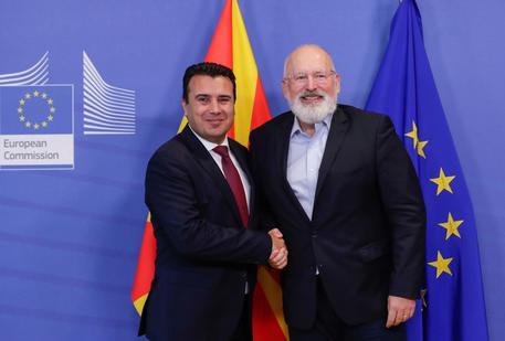 North Macedonia's Prime Minister Zoran Zaev At The Eu Commission