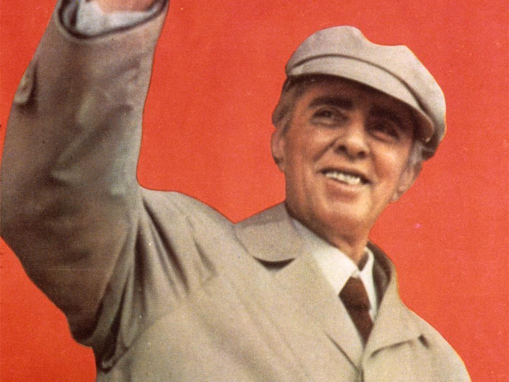 Enver Hoxha Në Spartakiadën Kombëtare 1984 Foto Kumi