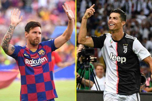 Talksport Messi And Ronaldo