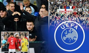 Uefa Charge Bulgaria For Racist Abuse But England Also Face