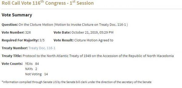 Glasanje Senat 1