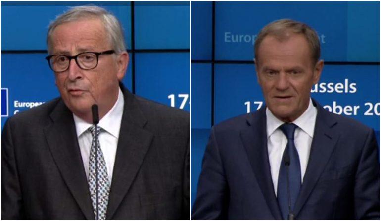 Juncker Tusk