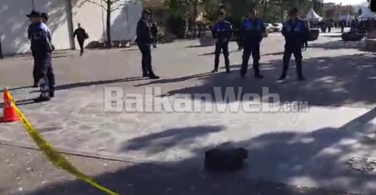 Alarm Per Bombe Ne Tirane