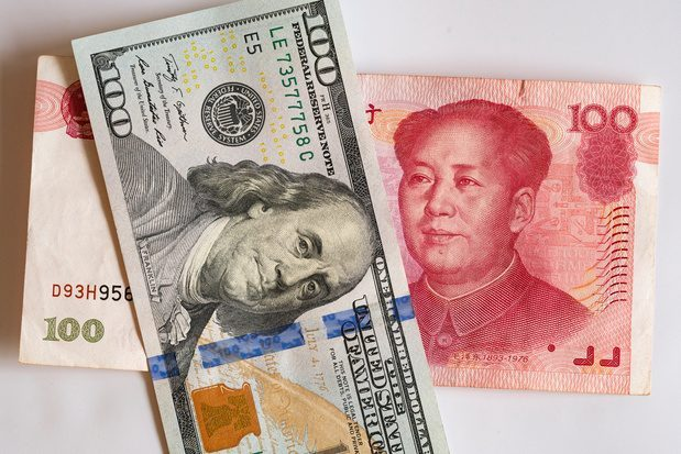 China Money Rmb And Usa Usd