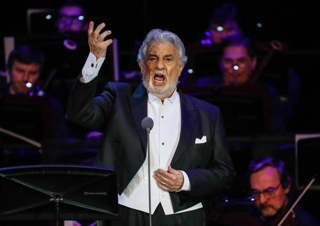 Placido Domingo Performs In Moscow