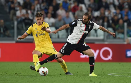 Juventus V Hellas Verona Serie A