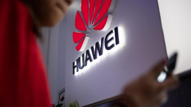 Huawei Telecommunication Chine Logo 696x391