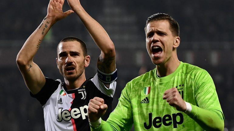 Leonardo Bonucci Wojciech Szczesny Juventus 1wwl554b4a4q7130fgvci2gbz4