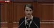 Rudina Hajdari Ne Parlament