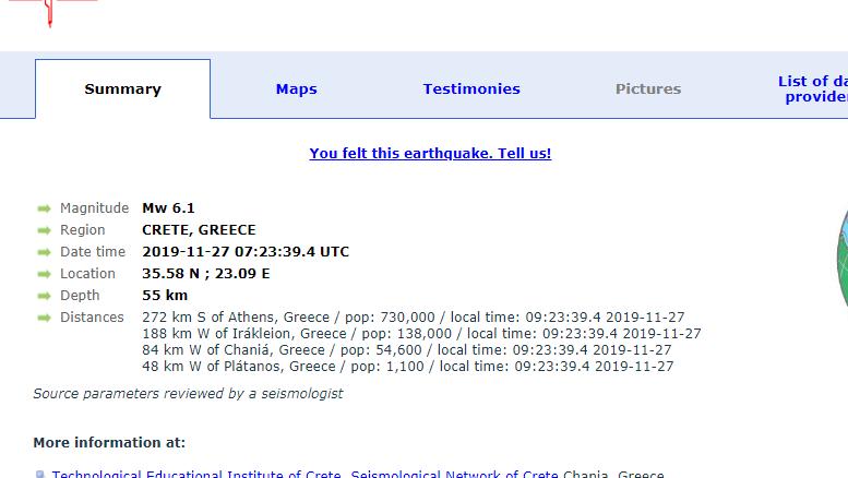 Termeti Ne Greqi